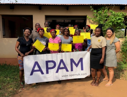 APAM Supports CLZ's Women's Empowerment Projects