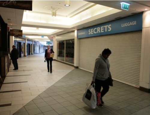 Shopping malls' desperate decline comes to prime minister's doorstep
