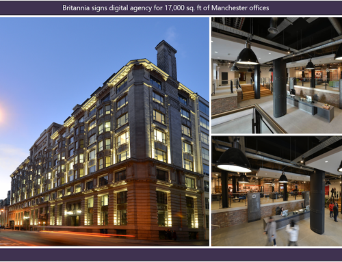 Britannia signs digital agency for 17,000 sq ft of Manchester offices