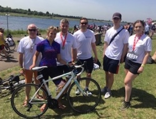 Fun Time at the JLL Triathlon