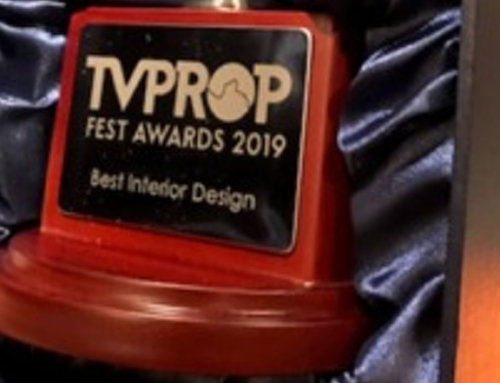 Best Interior Design Award at the Thames Valley Prop Fest Awards