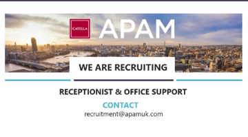 receptionist and office support